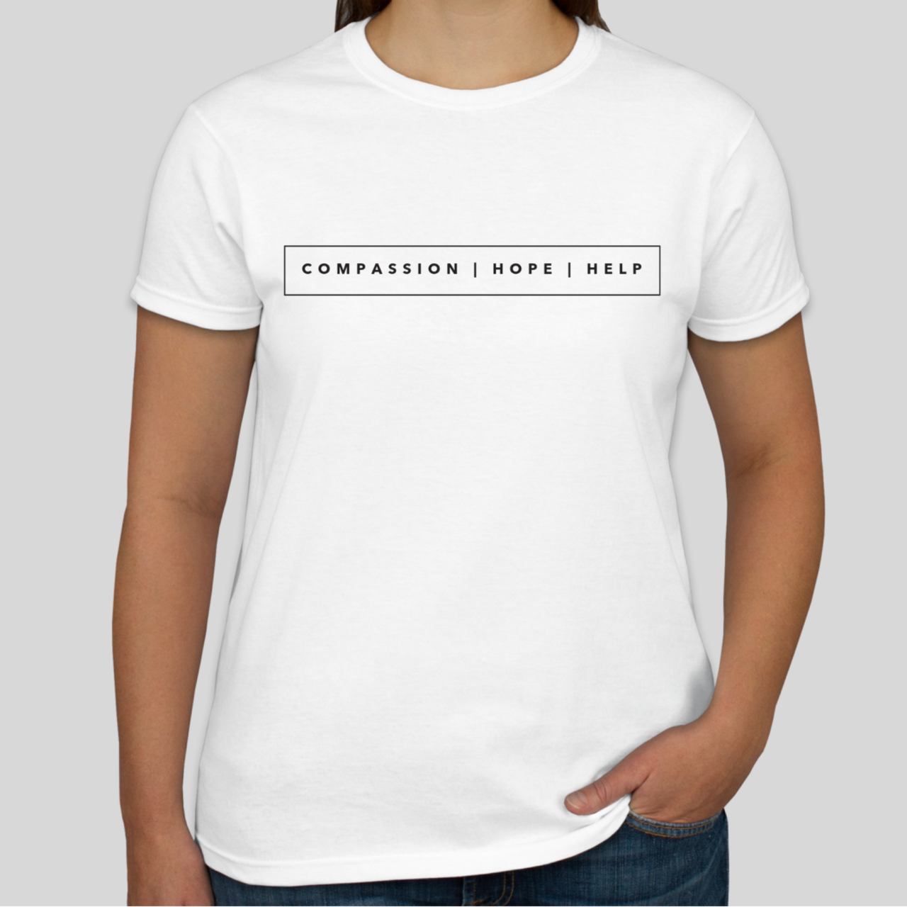 Compassion, Hope, and Help T-Shirt