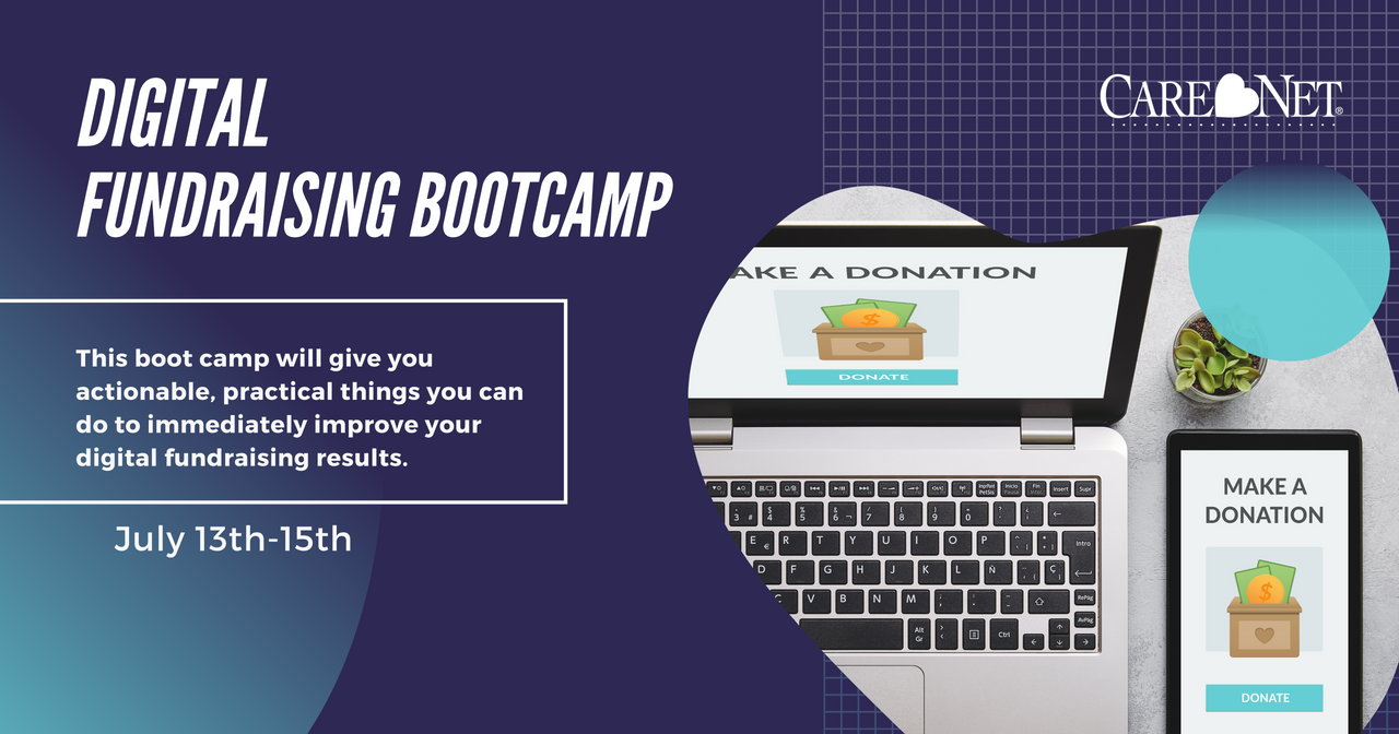 Digital Fundraising Bootcamp - July 13th-15th