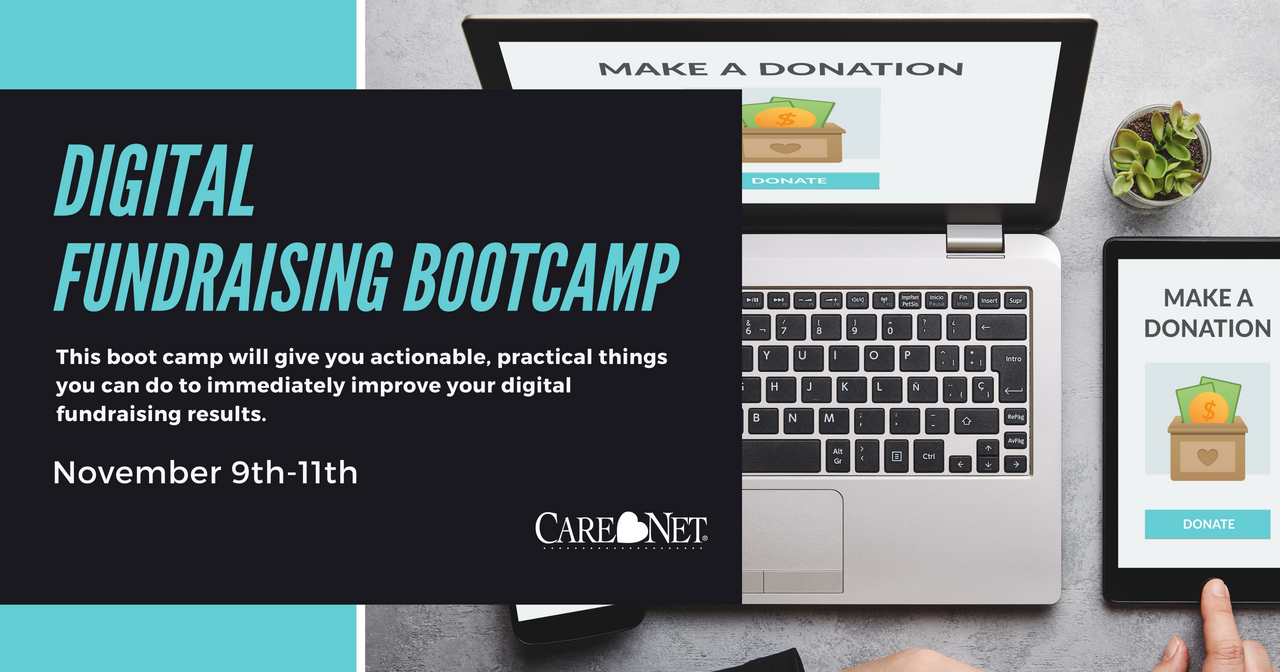Digital Fundraising Bootcamp - November 9th -11th