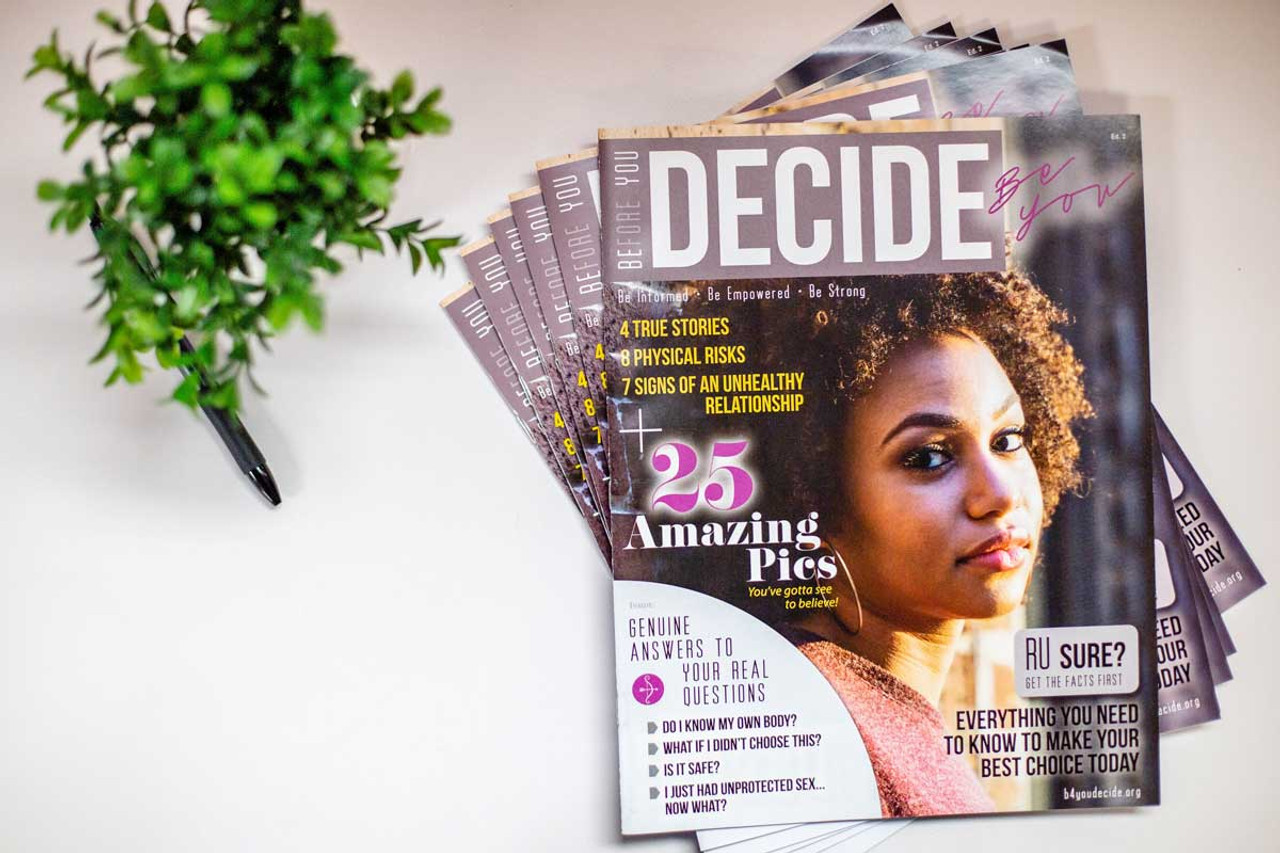 Before You Decide Magazine - Sold in Packs of 20