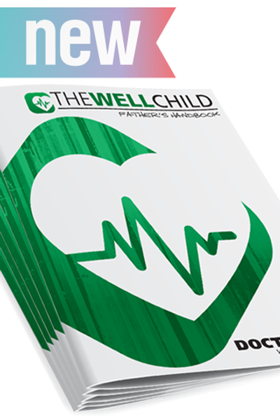 Doctor Dad: Well child Father's handbook (pack of 5)