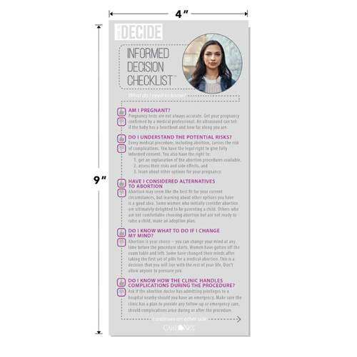 BYD: Informed Decision Checklist
