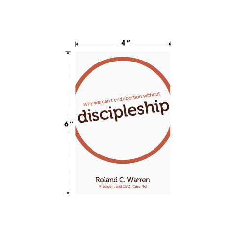 Why We Can't End Abortion Without Discipleship Book
