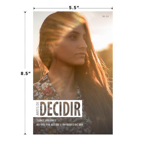 Before You Decide Brochure Español (BYDSPN20)