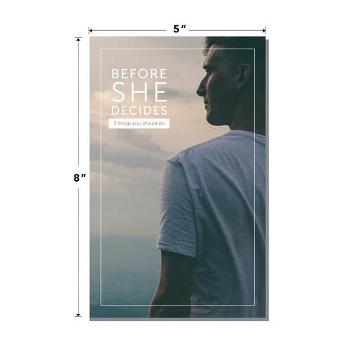 Before She Decides (Pack of 25) (PREORDER)