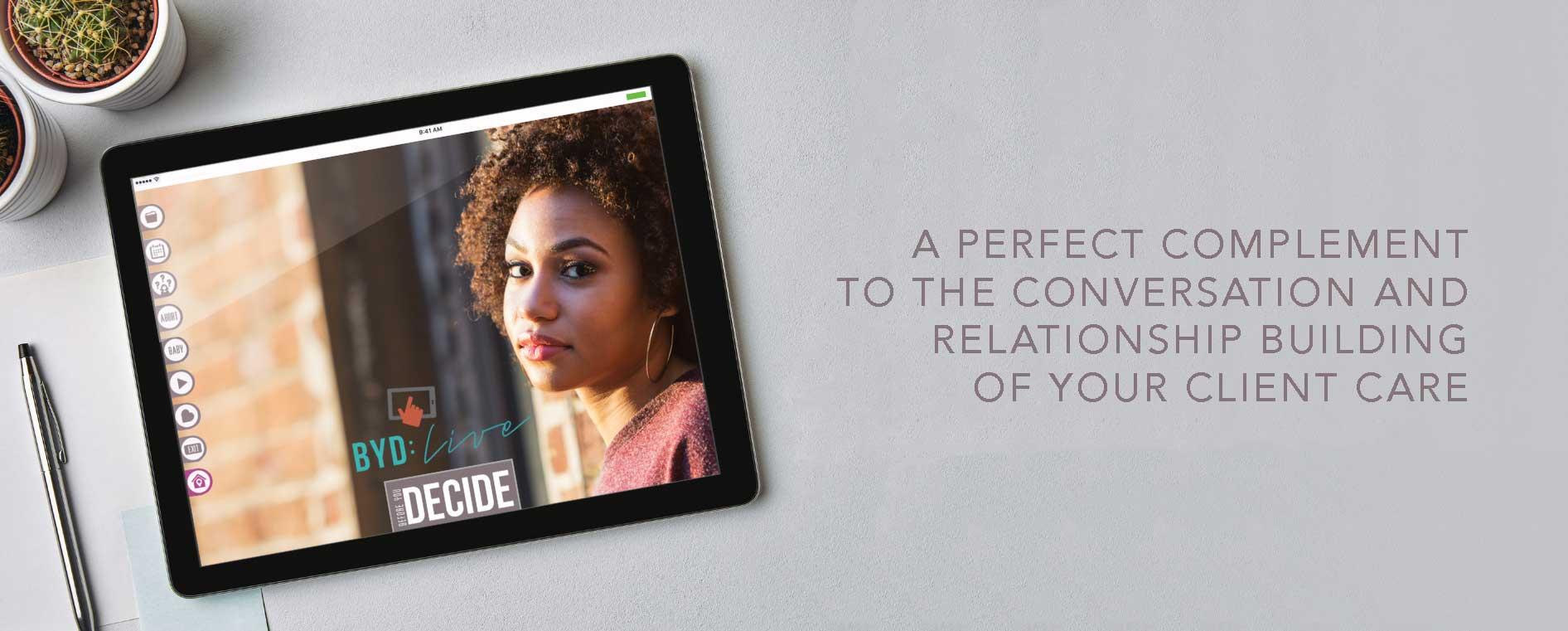 BYD: Live Tablet App