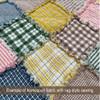 Summer Yellow 7 Homespun Cotton Fabric