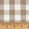 Oatmeal Buffalo Homespun Cotton Fabric