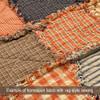Pumpkin Primitive Mini Buffalo Plaid Homespun Cotton Fabric