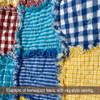 Cottage  Blue 5 Mini Buffalo Homespun Cotton Fabric