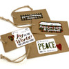 Christmas To/From Faith & Fabric Encouragement Stickers - 12 stickers