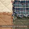 Nutmeg Homespun Cotton Fabric