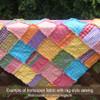 Pink 2 Homespun Cotton Fabric
