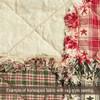 Ecru Solid Homespun Cotton Fabric