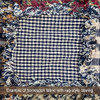 Primitive Black 2 Homespun Cotton Fabric