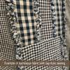 Primitive Black 3 Homespun Cotton Fabric