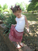 Li'l Dumpling Girls Ragged Skirt Pattern - DIGITAL