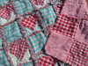 Sweetheart Throw Ragged Homespun Pattern - DIGITAL