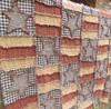 Stars 'n' Stripes Quilt or Tablecloth Ragged Pattern - DIGITAL