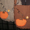 Holiday Bag Ragged Homespun Pattern - DIGITAL