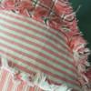 Boho Stripes Ragged Pillow Pattern - Forever Free! - Digital