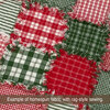 Perfect Green 5 Homespun Cotton Fabric