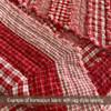 Cherry Red 3 Homespun Cotton Fabric