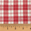 Cherry Red 5 Homespun Cotton Fabric