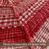 Cherry Red 4 Homespun Cotton Fabric