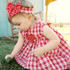 Ruthie Rag Style Toddler Girls Dress, Bloomers & Headband Pattern