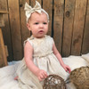 Ruthie Vintage Style Baby Girl Dress, Bloomers & Headband Pattern