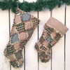 Patchwork Quilted Christmas Stocking Pattern - DIGITAL