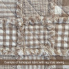 Oatmeal 2 Homespun Cotton Fabric