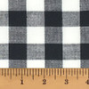 White Buffalo Check Homespun Cotton Fabric