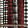 Mountain Lodge 3 Plaid Homespun Cotton Fabric