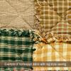 Honey Mini Buffalo Homespun Cotton Fabric