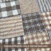 Magnolia Gray Buffalo Homespun Cotton Fabric