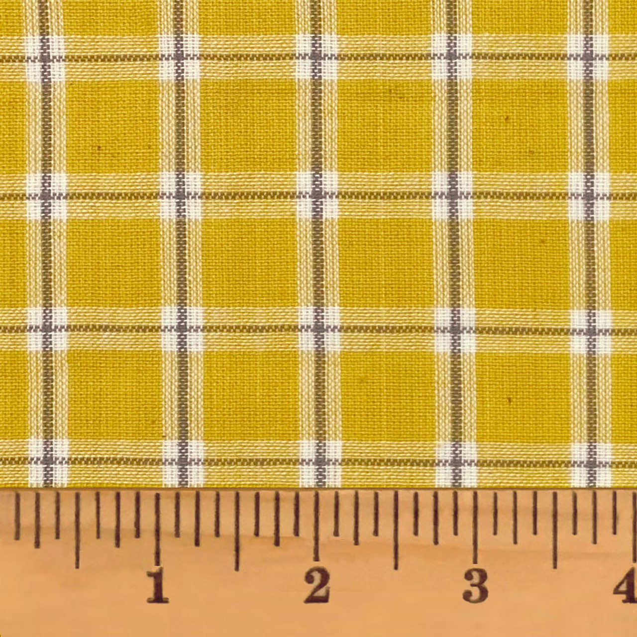 Summer Yellow 6 Homespun Cotton Fabric