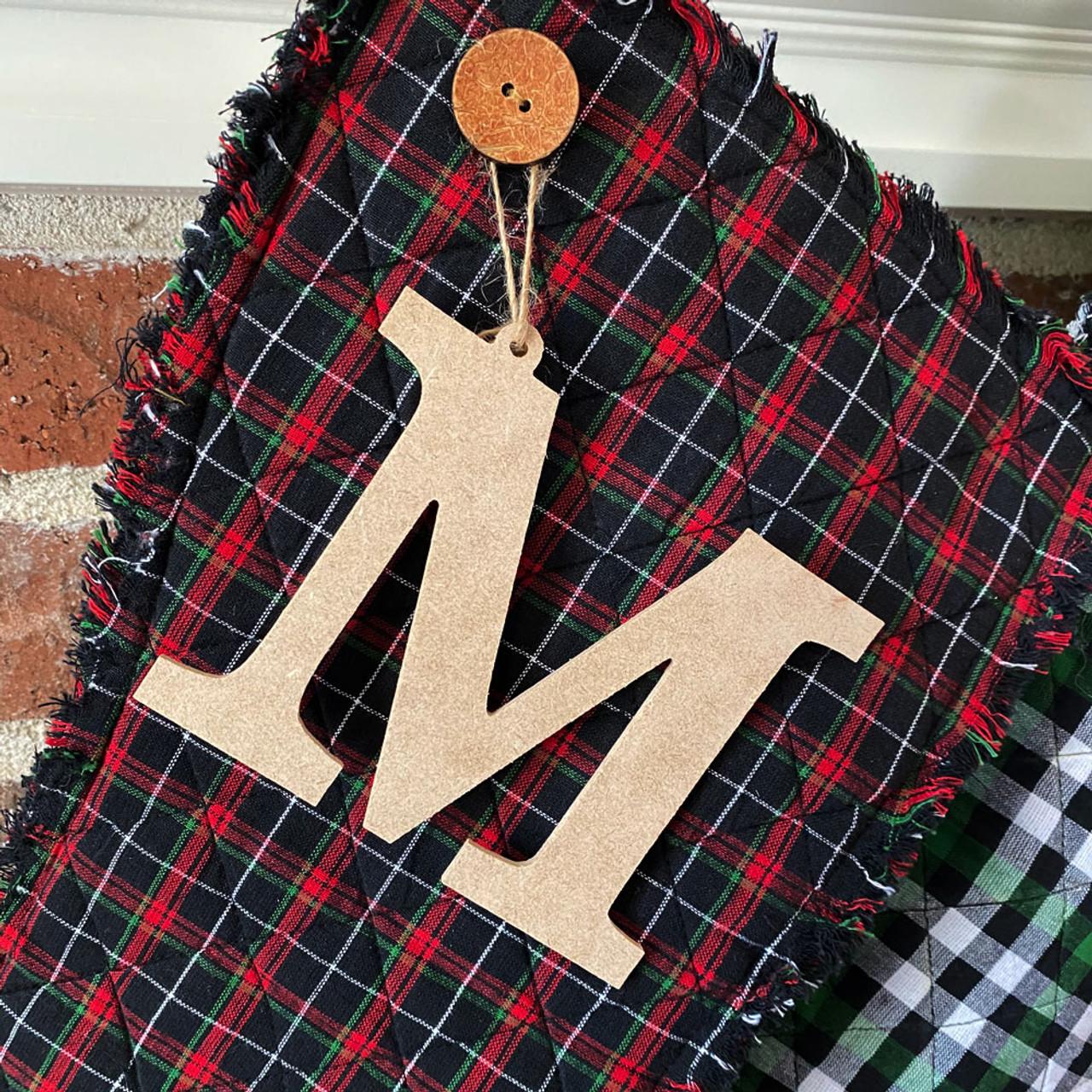 Wood Alphabet Letters