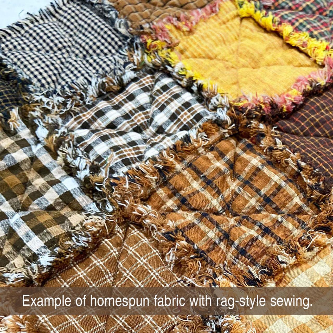 Driftwood 3 Homespun Cotton Fabric