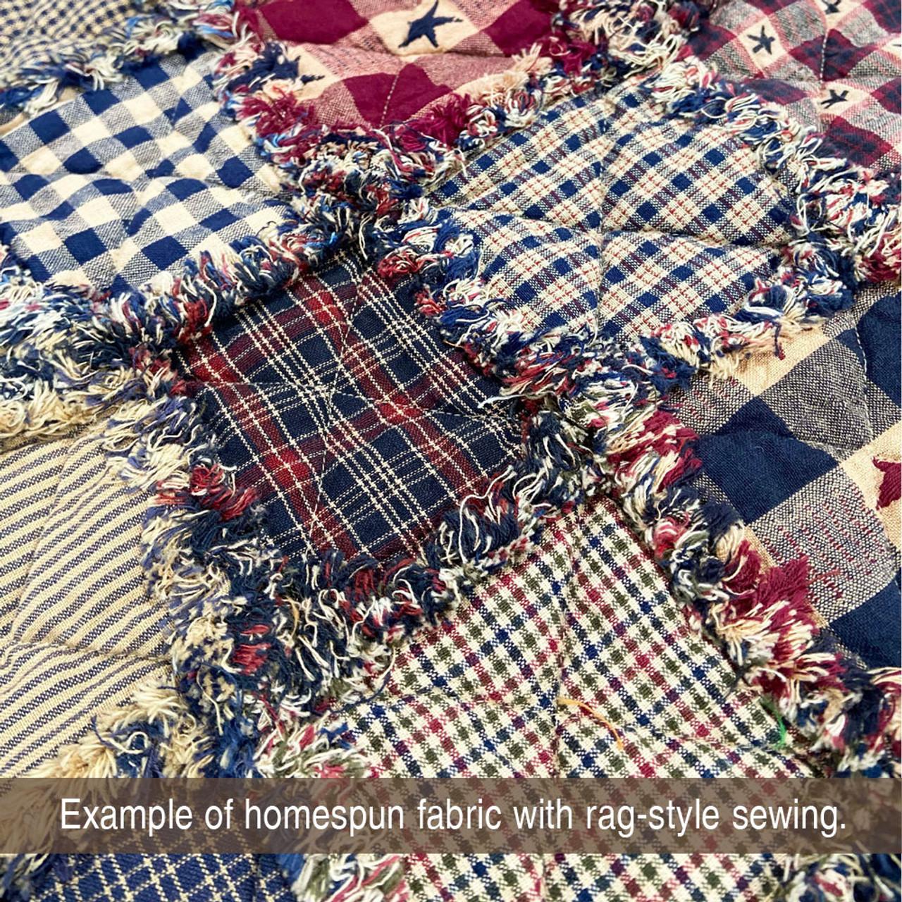 Homestead 2 Homespun Cotton Fabric