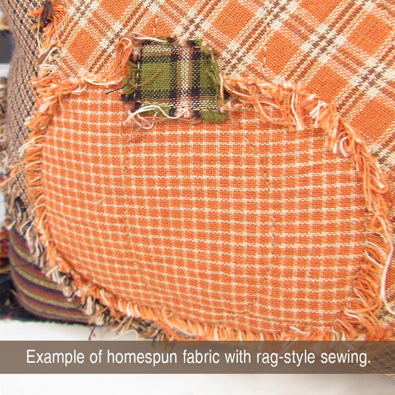 Pumpkin Spice 4 Homespun Cotton Fabric