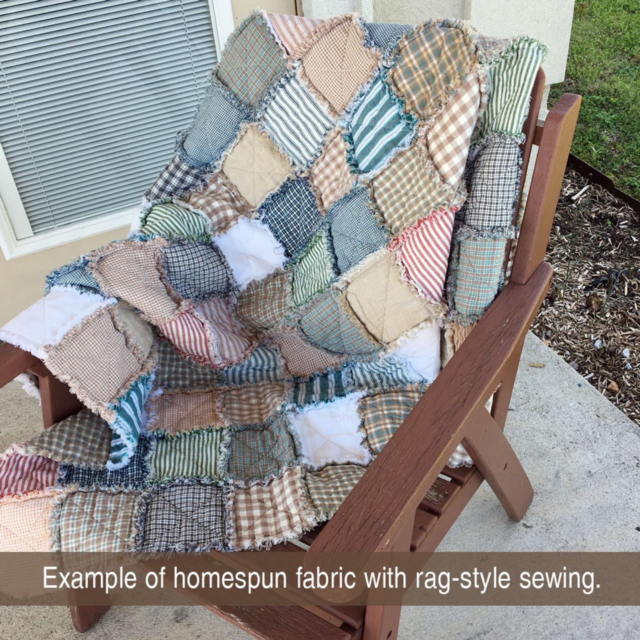 Front Porch 4 Homespun Cotton Fabric