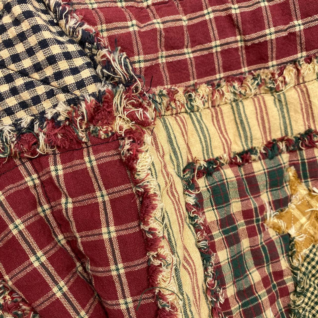 Shabby Snowman Rag Quilt Kit