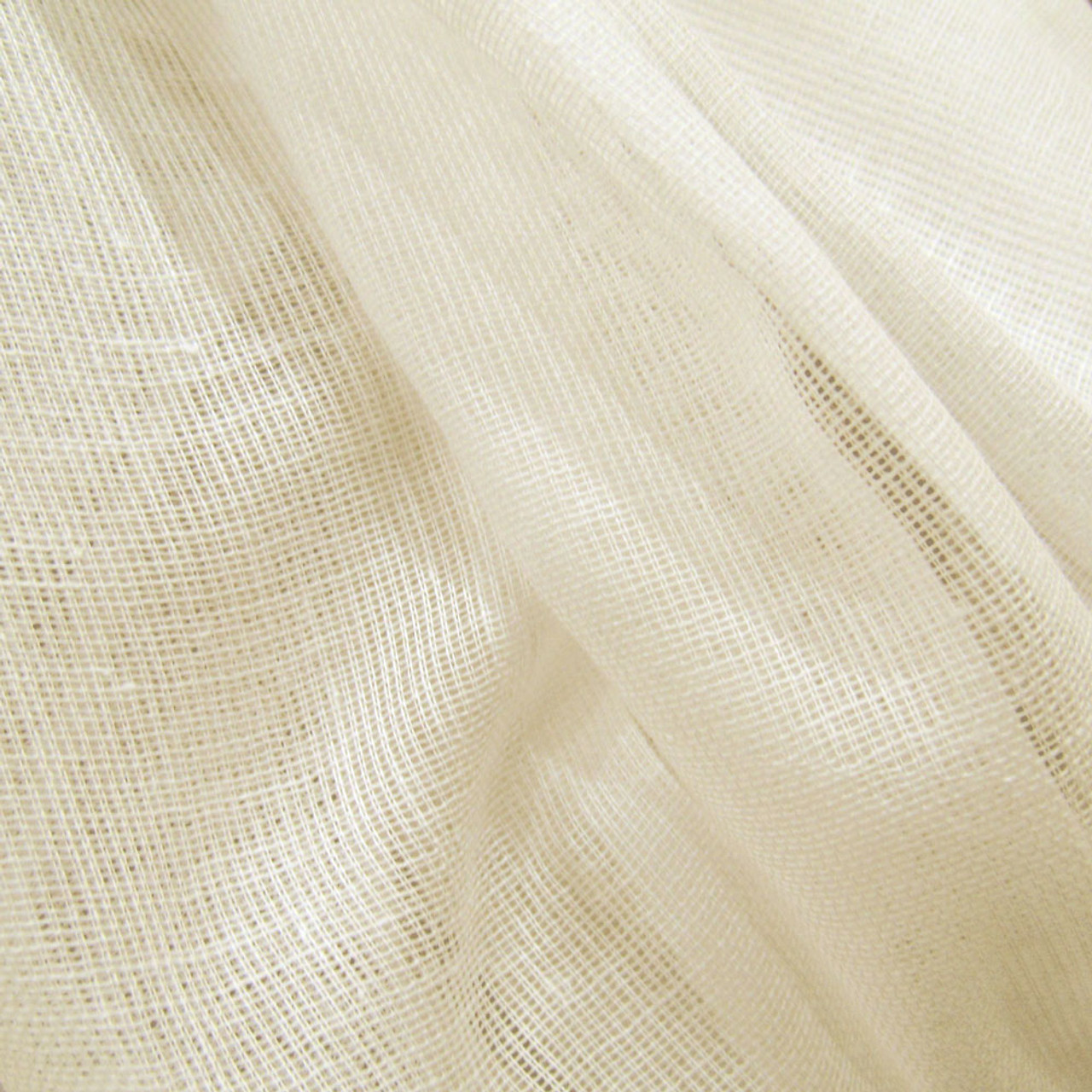 10 Yards Unbleached Tobacco Cloth Cotton Fabric - Lightweight