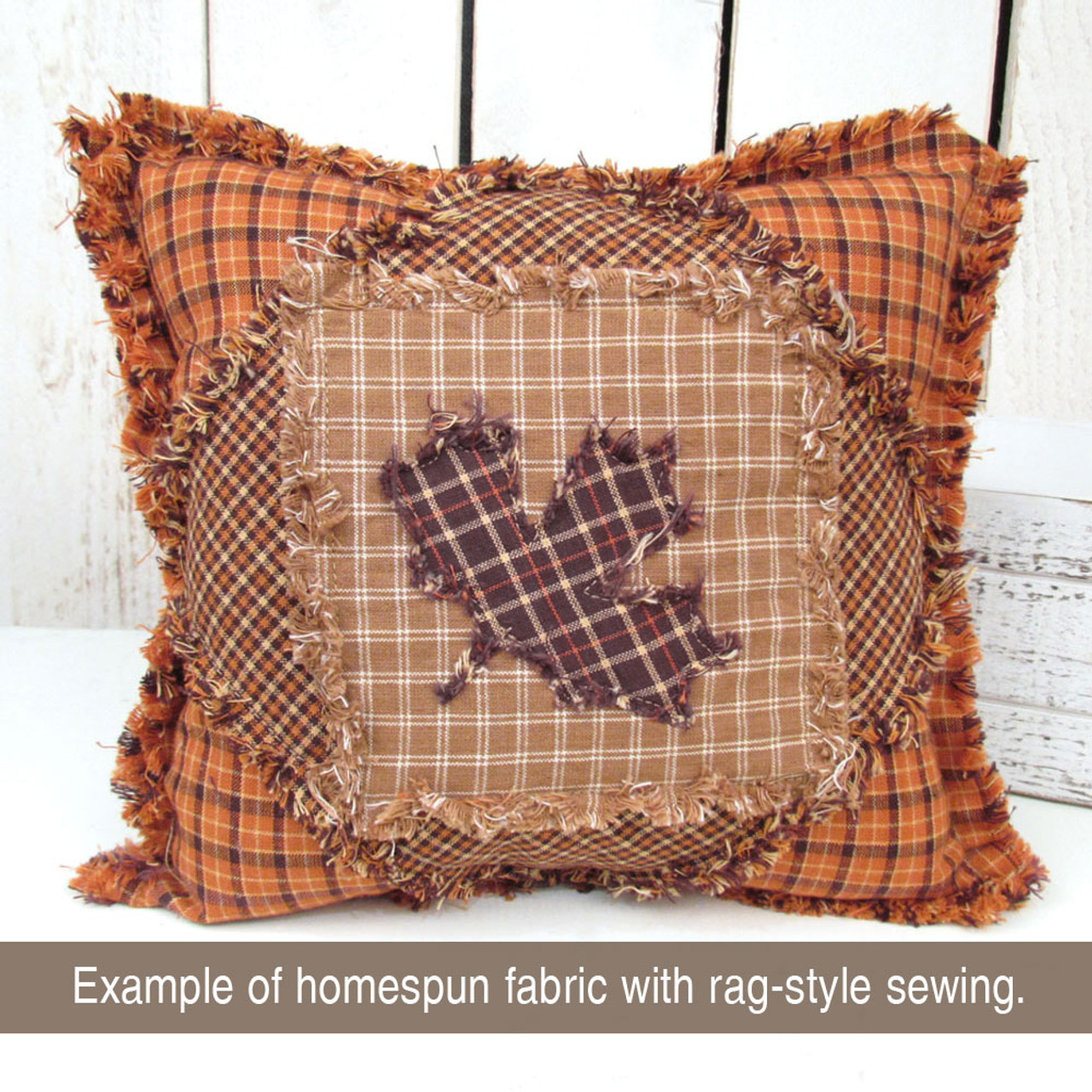 Ozark Stripe Homespun Cotton Fabric