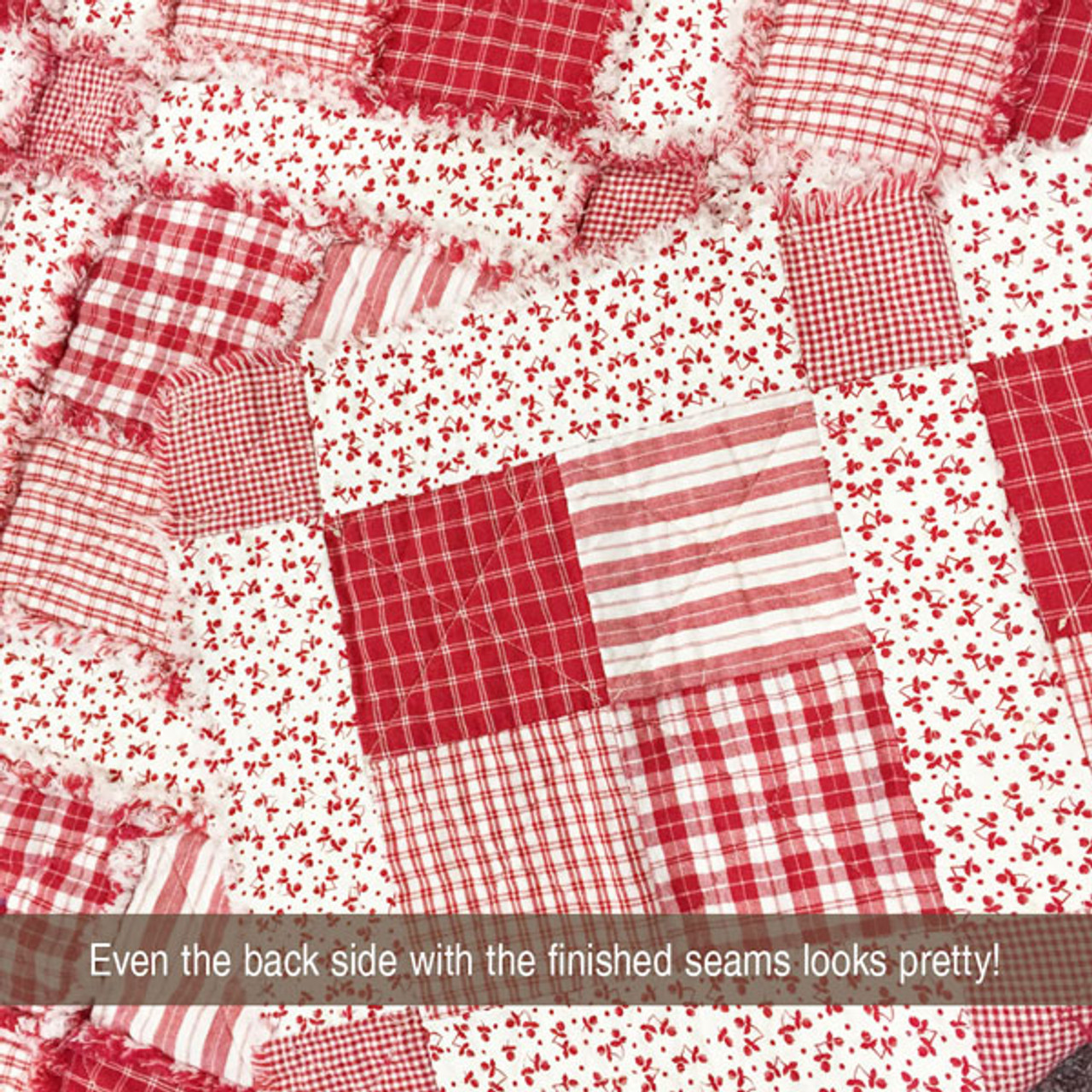 Merry & Bright Quilted Throw Pattern - Digital