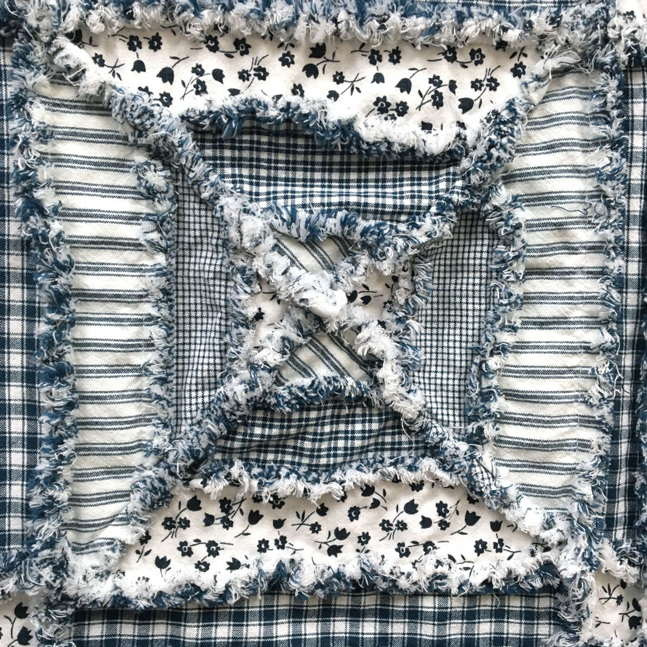 Butler Creek Coverlet Throw Pattern - Digital