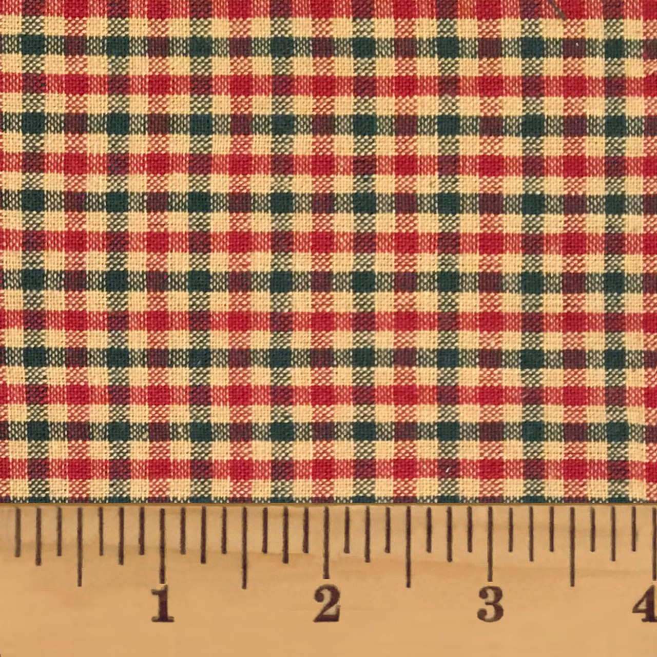 Cranberry Christmas 3 Plaid Homespun Cotton Fabric