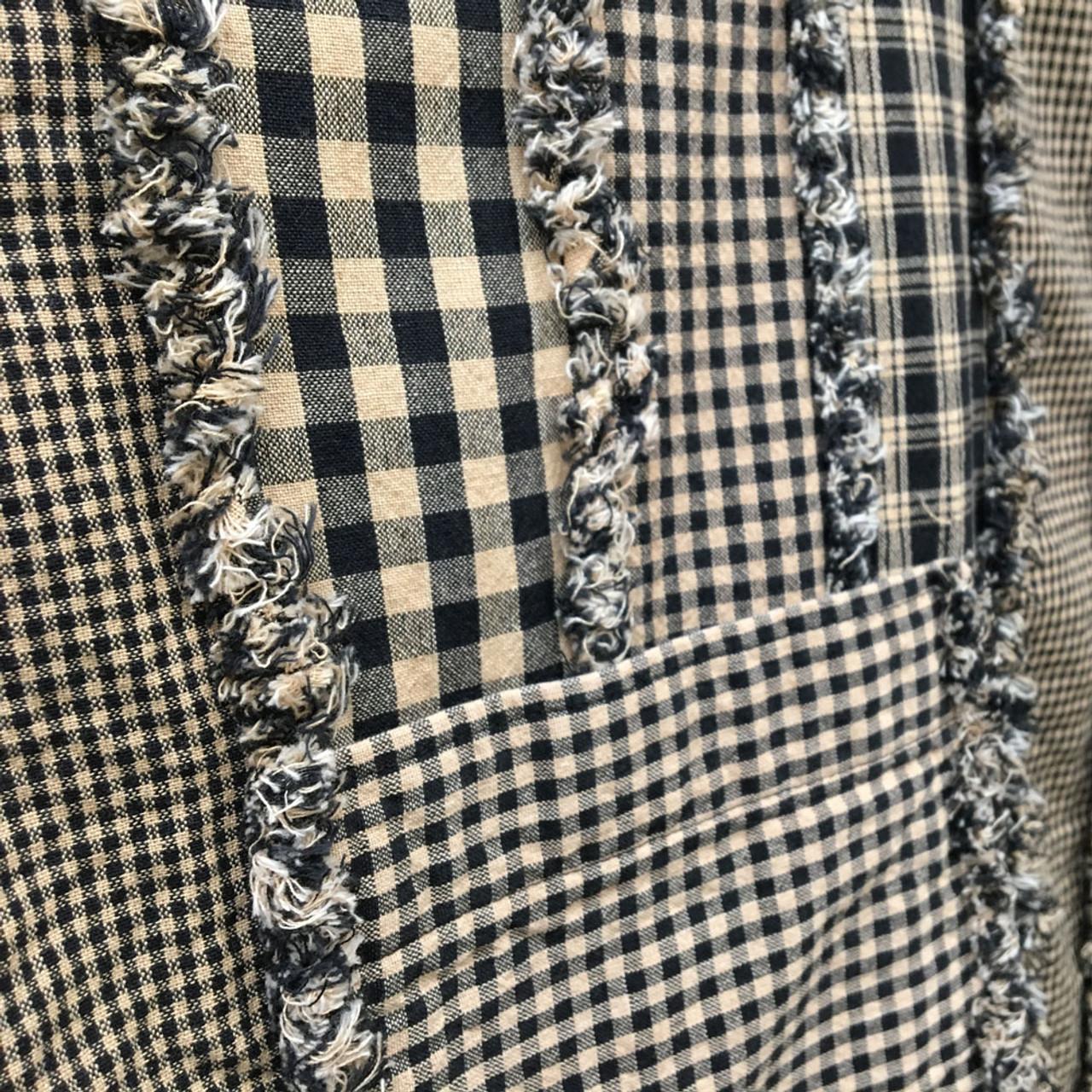Ragged Stripe Apron Pattern - Digital